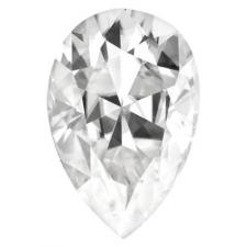 Forever One Moissanite Pear Cut