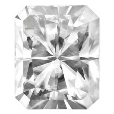 Forever One Moissanite Radiant Cut