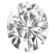 Forever One Oval Moissanite