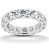 Moissanite Eternity Ring. Item Number EWB167